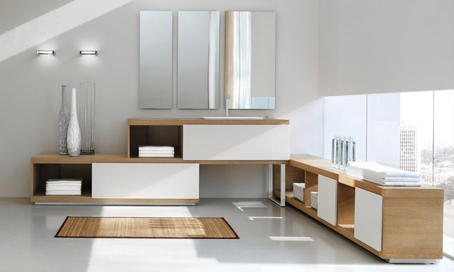 Arcom arkitekturaarkitektura for Meuble salle de bain bois